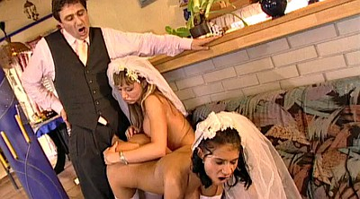 Bride, Wedding, Husband threesome