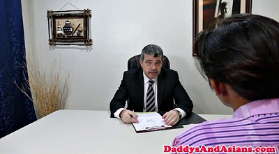Dad, Asian office, Daddy gay, Gay old, Asian old, Old dad