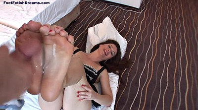 Footjob, Mature footjob, Mature feet