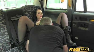 Pale, Goth, Public creampie, Clothed fuck