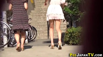 Japan, Japan teen, Public pee, Japanese pee