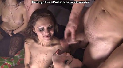 Heels, Student anal, Russian double penetration, College