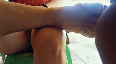 Touch, Candid feet, Candid soles