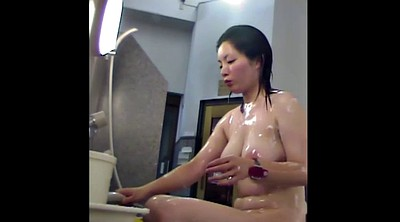 Long hair, Japanese tits, Japanese solo, Japanese shower, Japanese big tit, Asian big boobs
