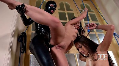 Strapon, Lesbian anal strapon, Latex lucy, Latex anal