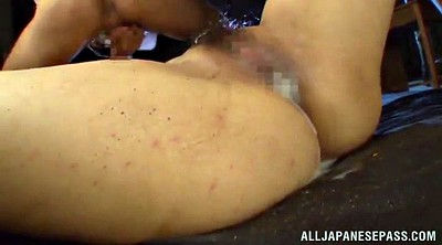 Gangbang creampie, Asian creampie, Oil, Asian blowjob, Oiled, Oil handjob
