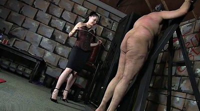 Caning, Mistress, Slave, Spank caning, Male slave, Male