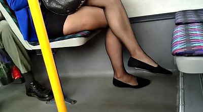 Black pantyhose, Sheer