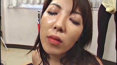 Bukkake, Swap, Asian milf