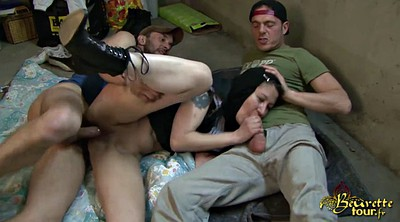 Arab, Brutal, Threesome amateur