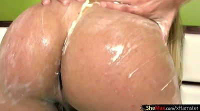 Shemale, Lubed, Big nipples, Huge ass, Big nipple