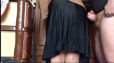 Skirt, My mom, Mature mom, Cum mom, Mom cum