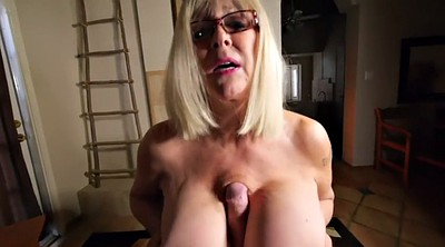 Therapy, Mature tits, Blonde mature