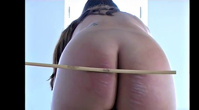 Spanked, Caning, Plumper, Naked, Caning girls, Caned