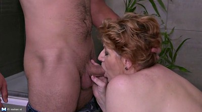 Bbw, Mom and son, Mom fuck son, Old and young, Son mom, Young and old