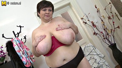 Breast, Bbw mom, Mature bbw, Breast play