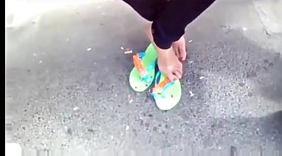 Foot, Candid, Barely, Foot fetish, Feet hd