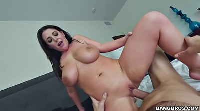 Spanked, Oil, Angela white, Angela