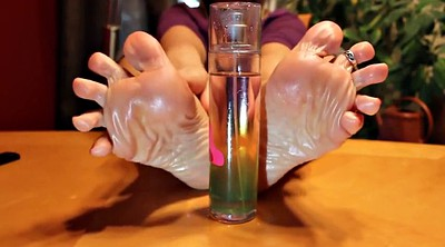 Foot, Mature feet, Mature footjob, Sexy foot, Bottle