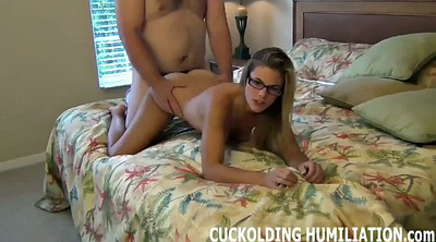 Cuckold, Slut wife, Wife cuckold, Watching wife