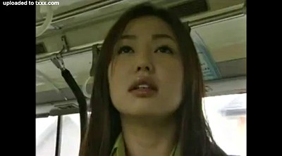 Bus, Japanese lesbian, Japanese massage, Japanese bus