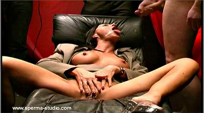 Gangbang creampie, Creampie compilation