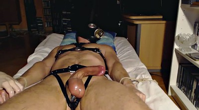 Big milk, Edging, Gay bdsm, Bdsm gay, Bondage handjob, Edged