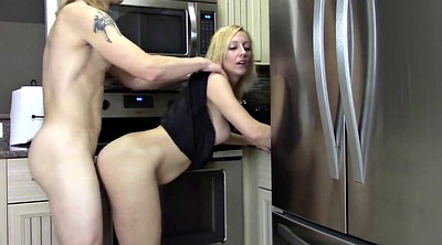 Mom, Kitchen, My mom, Mom creampie, Kitchen mom, Creampie mom