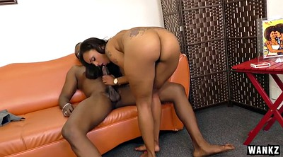 Blacked, Riding creampie