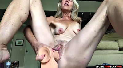 Hairy dildo, Pussy fucking, Milf dildo, Hairy blonde, Hairy amateur