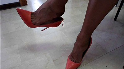 Shoes, Nylon feet, Shoe, Nylon foot