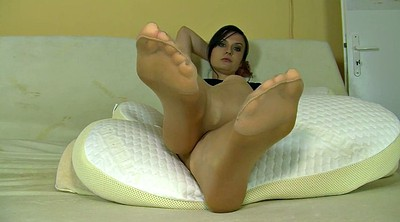 Nylon foot, Nylon foot fetish, Nylon feet, Nylon fetish