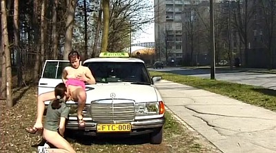 German, Taxi, Real public, Real amateur