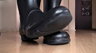 Foot, Latex boots