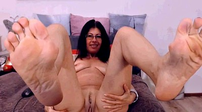 Mature feet, Mature foot, Latina mature