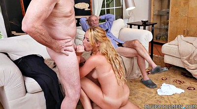 Granny group, Young blowjob