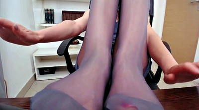 Pantyhose foot, Pantyhose feet, Feet fetish