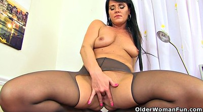 Nylon, Nylon fetish, Mature british