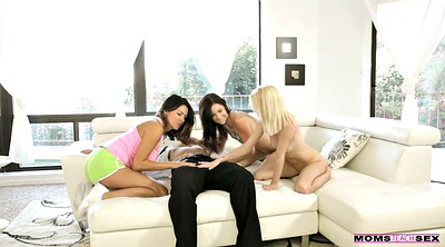 Lesbian group, Young threesome