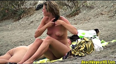 Beach, Amateur couple