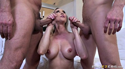 Brandi love, Threesome