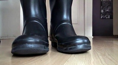 Lick foot, Rubber, Hunter, Boot