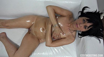 Tease, Oiled, Casting mature