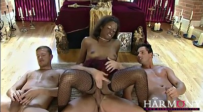 Double anal, Interracial