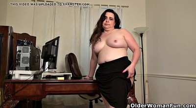 Office mature, Bbw office