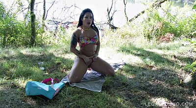 Outdoor, Gangbang teen