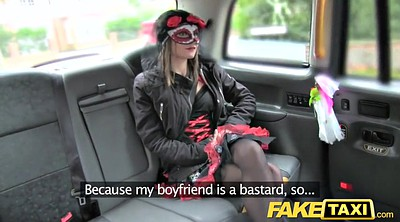 Fake taxi, Taxi big tits, Masked, Fake
