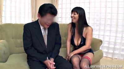 Heels, High-heeled, Asian babe, Heel job, Tits job