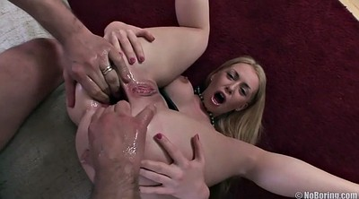 Gangbang, Three, Huge, Ass gaping