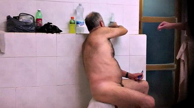 Dad, Hairy hd, Gay dad, Dad shower, Dad gay